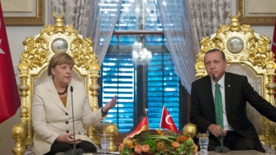 Merkel relanzará la candidatura de Turquía para la UE