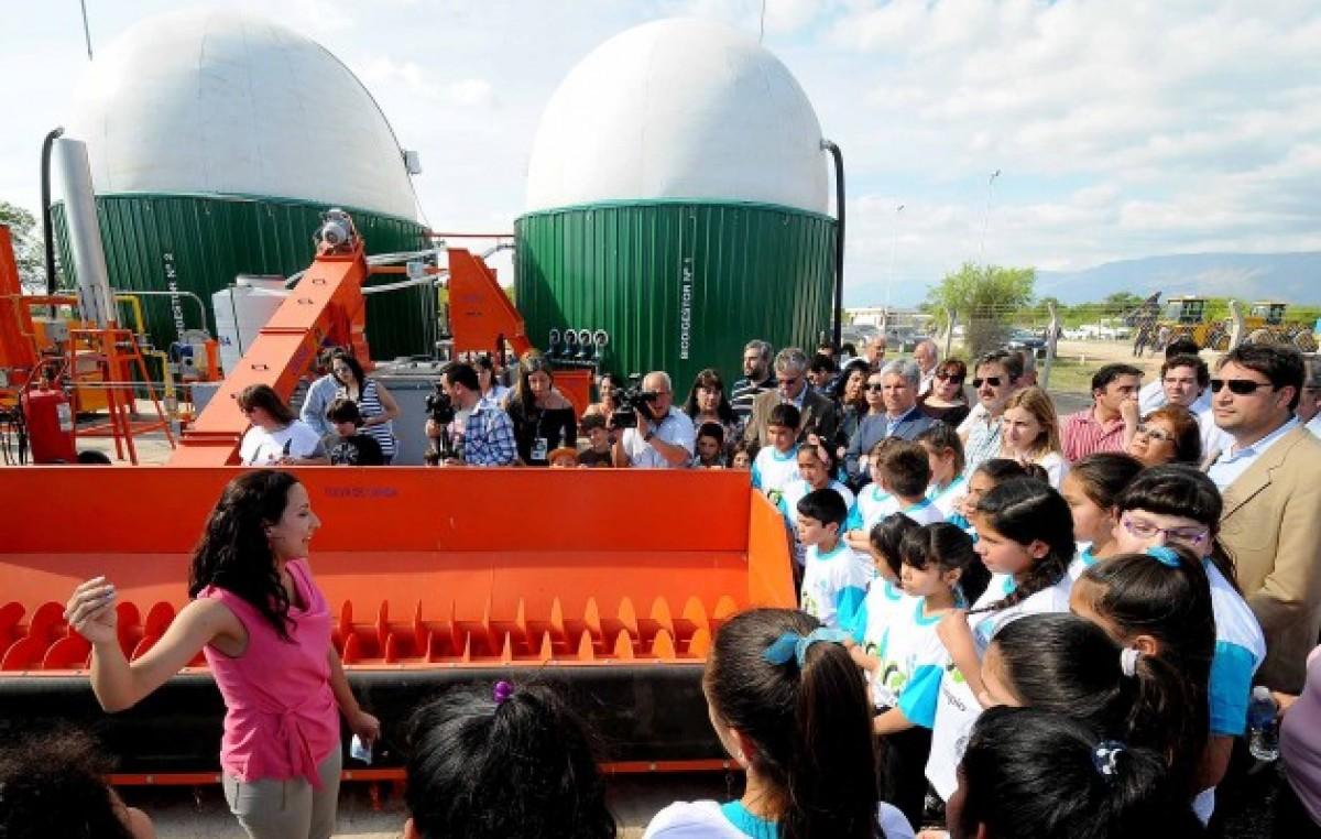 Se inauguró la primera Planta de Biogás enSan Luis