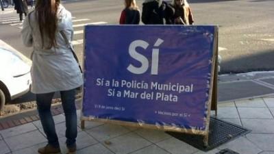 Los policías locales de Mar del Plata aseguran que se sienten bien recibidos por vecinos y comerciantes