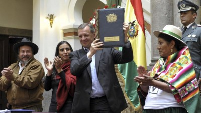 Gobierno de Bolivia promulga ley de convocatoria a referendo