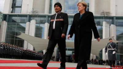 Merkel y Morales acuerdan cooperación energética