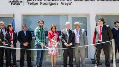 Inauguraron el Centro Municipal de Seguridad Ciudadana en Funes