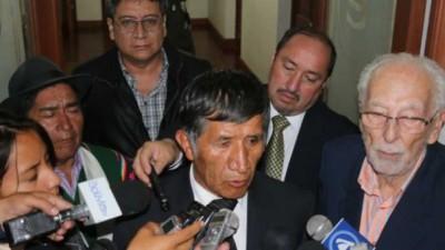 Por primera vez en la historia de Bolivia: un indígena es presidente de la Corte Suprema