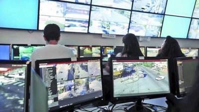 Comienza a funcionar la central de monitoreo de cámaras de seguridad en Villa María