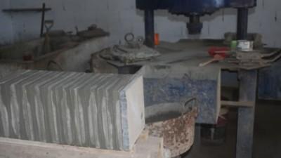 Reactivan la fábrica de baldosas municipal en Bermúdez