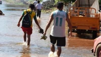 Más de 1000 evacuados en Formosa por las crecidas en los ríos Pilcomayo y Paraguay