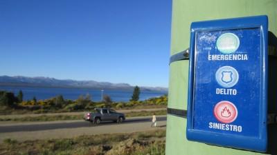 Instalaron botones antipánico en Bariloche