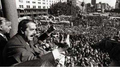 Se cumplieron 32 años de democracia desde aquel 10 de diciembre de 1983