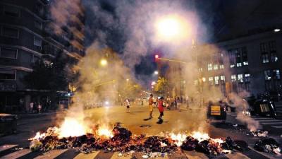 """Bullrich, sobre las protestas: """"No queremos que la Ciudad sea un caos todos los días"""""""