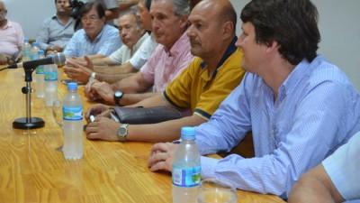 En Pico, el Ministro de Seguridad se reunió con intendentes norteños