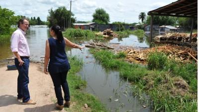 El Gobernador de Entre Ríosconfirmó obras en ciudades que están afectadas por las inundaciones
