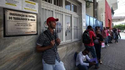 Brasil sufrió la peor pérdida de empleos en 24 años
