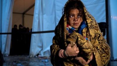 Unicef advirtió sobre el riesgo de muerte de niños refugiados