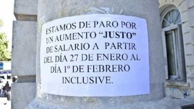 Tercer día de paro en Luján: Municipales esperan una oferta que supere el 5% del escándalo