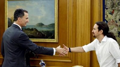 Pablo Iglesias propone formar gobierno español entre Podemos y el PSOE