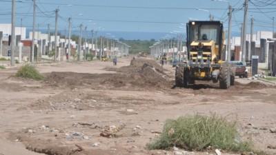 Estiman que en dos años el asfalto cubrirá toda la ciudad de San Luis
