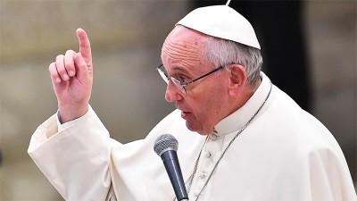 «¡No se olviden de los pobres!», pidió el Papa Francisco a los líderes en Davos