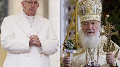 Histórica e inédita reunión del Papa y Cirilo I en Cuba