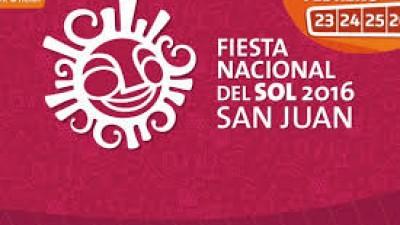 Fiesta Nacional del Sol, del 23 al 26 de febrero en San Juan