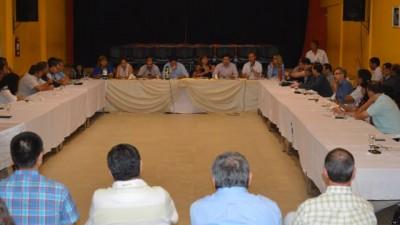 Chaco: Comunas de primera categoría analizaron obras y acciones con funcionarios provinciales