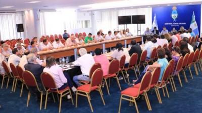 El Gobernador de Chacoobtuvo el apoyo de intendentes para todas las gestiones ante el gobierno nacional