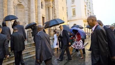 Obama inicia histórica visita a Cuba en una nueva etapa de relaciones