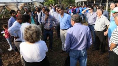 Capitanich presentó el Plan Hortícola para Resistencia