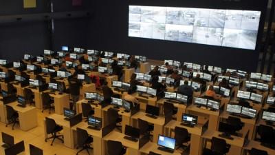 El Centro de Monitoreo de Mar del Plata, casi sin personal para mirar las cámaras