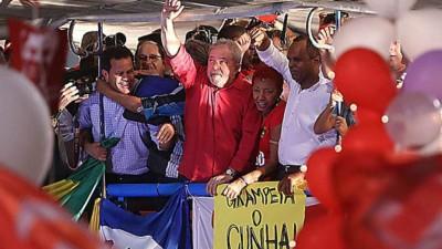 "Lula encabezará marcha contra el ""golpe"" a Dilma"
