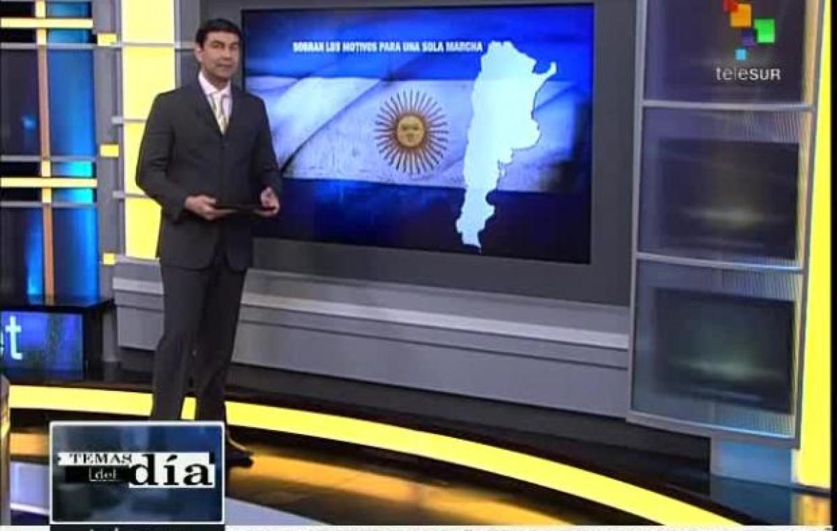 Otra voz menos: después de casi once años, Argentina abandona la cadena Telesur