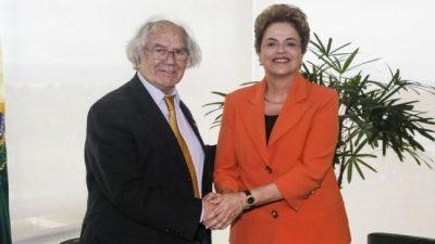 Pérez Esquivel llevó a Dilma el apoyo del Papa