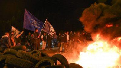 Entre enero y marzo aumentaron un 35% las protestas en rutas y calles de Chubut