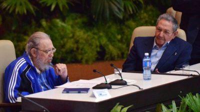 Reapareció Fidel: «El pueblo cubano vencerá»