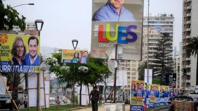 Chile veta fondos privados para campañas políticas