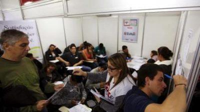 Tasa de desempleo de Brasil supera el 10%