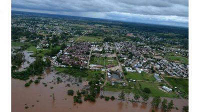 """Santa Fe: Se declaró """"zona de emergencia y desastre a 18 de los 19 departamentos provinciales"""""""