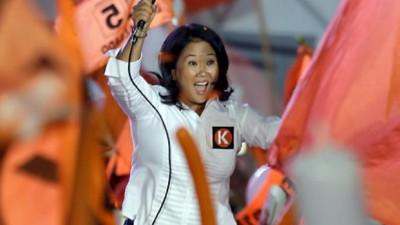 Keiko Fujimori se apresta a ganar en Perú y a esperar rival en el ballotage