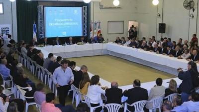 Chaco, Santa Fe y Santiago del Estero apuestan al desarrollo regional