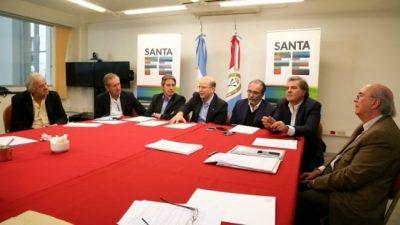 Santa Fe, Córdoba y Entre Ríos abordaron la emergencia hídrica