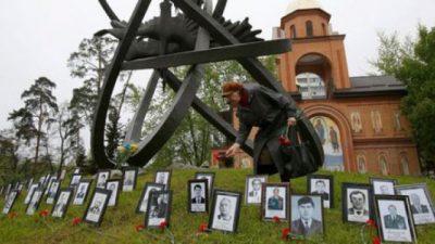 Con esperanza, Ucrania conmemoró 30 años del desastre de Chernobyl