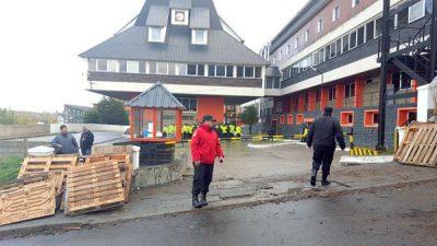 Después de 57 días funcionarios pudieron ingresar a Casa de Gobierno de Tierra del Fuego