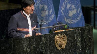 Bolivia anuncia que será sede de Conferencia de Países Sin Litoral