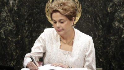 Destitución de Dilma, una cortina de humo para tapar el Lava Jato