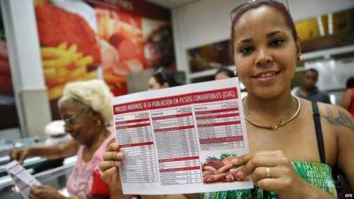 Gobierno cubano baja el precio de los alimentos para ayudar al bolsillo