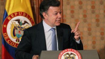 Colombia: Santos pidió la renuncia a todo su gabinete