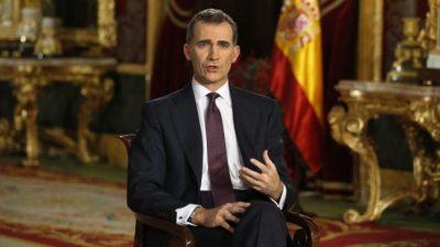 Para el rey de España es inevitable convocar a nuevas elecciones