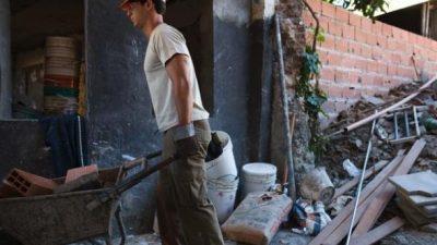 Desde octubre en Misiones, uno de cada dos trabajadores de la construcción se quedó sin empleo