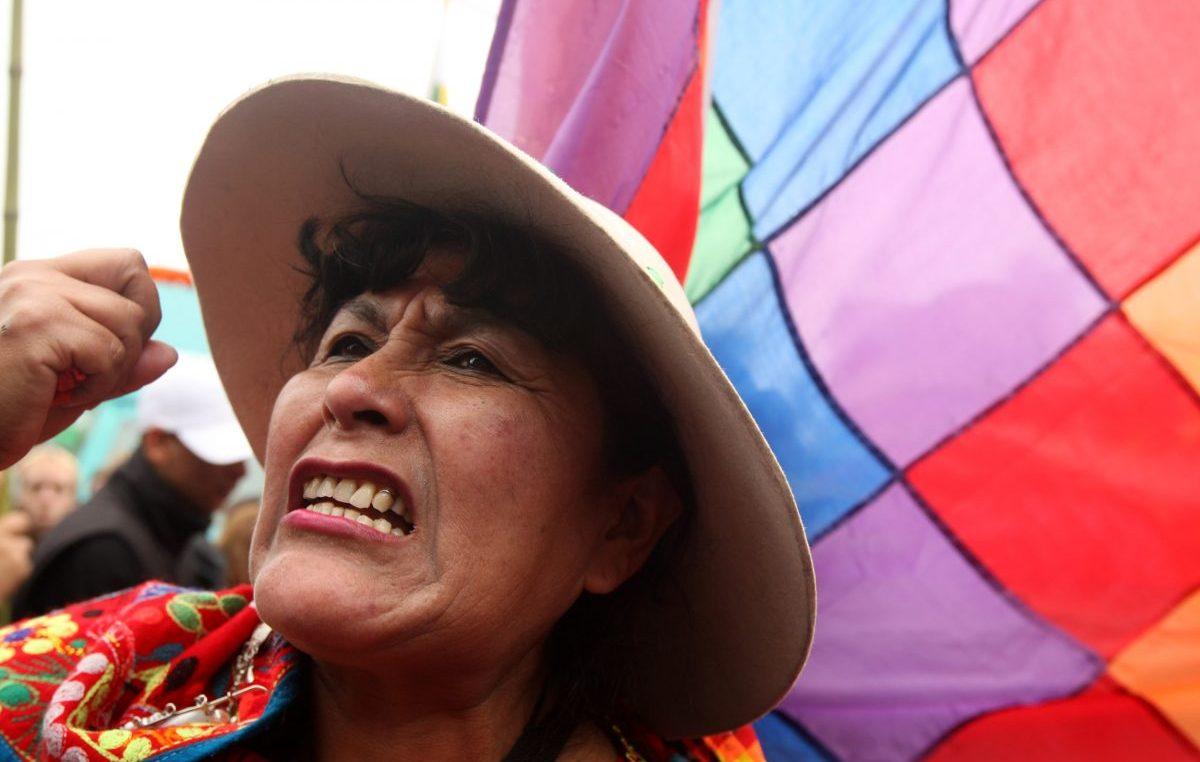 """""""Macri quiere desaparecer la política pública indígena"""""""