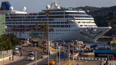 Después de 50 años, un crucero de EEUU llegó a La Habana