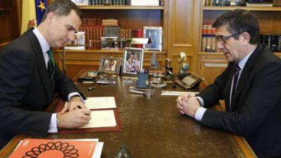 La crisis política pone a España en un escenario sin antecedentes